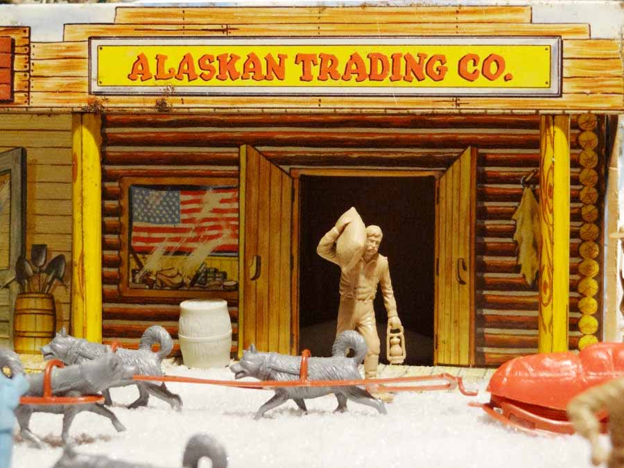 Alaska - Canadian Frontier by Marx